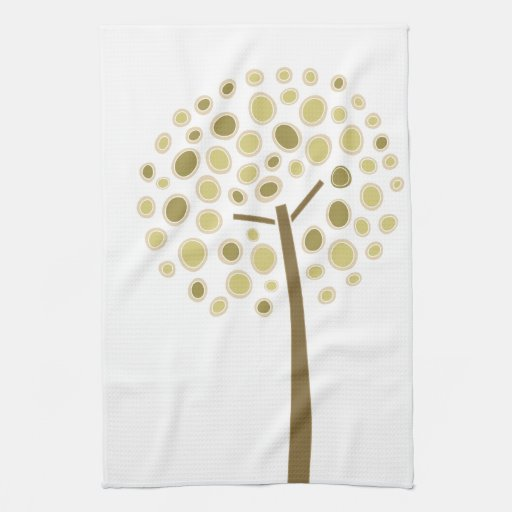 Whimsical Tree Kitchen Towels