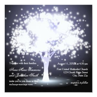 Whimsical Tree Lights - Wedding Invitation