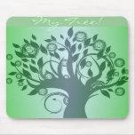 Whimsical Tree Mousepad