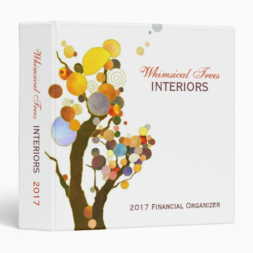 Whimsical Trees Business Binder