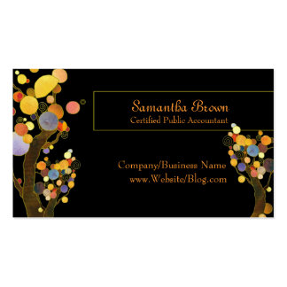 Whimsical Trees Business Cards