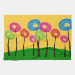 Whimsical Trees Kitchen Towel