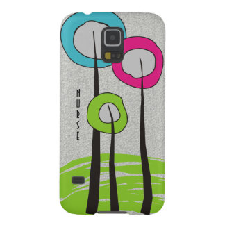 Whimsical Trees Nurse Phone cases Cases For Galaxy S5