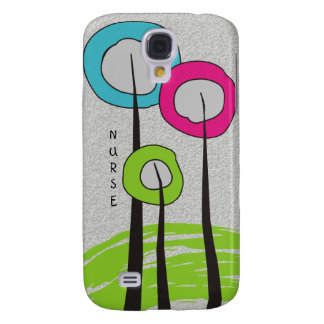 Whimsical Trees Nurse Phone cases Galaxy S4 Cover