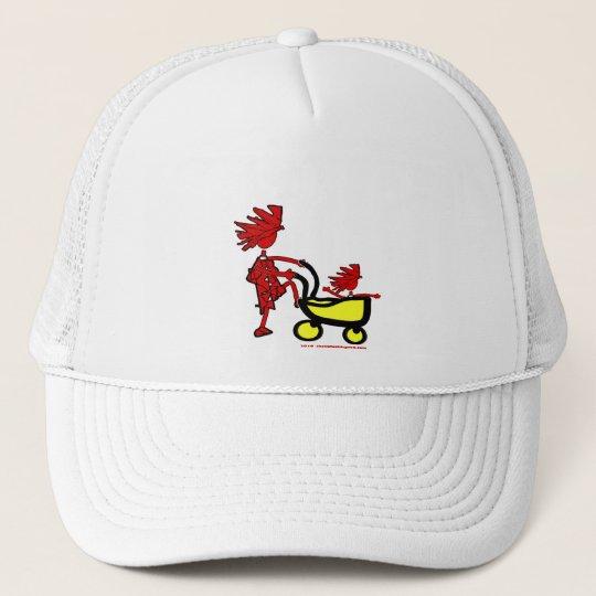 Whimsical Trucker Hat