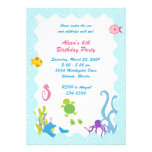 Whimsical Under the Sea Invitations