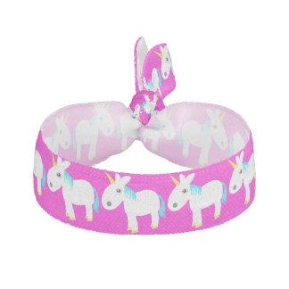 whimsical unicorn hair tie