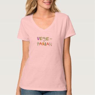 Whimsical Vegetarian in Vegetables Veggie Lovers T T-Shirt