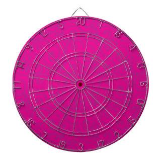 whimsical vibrant pattern dartboard