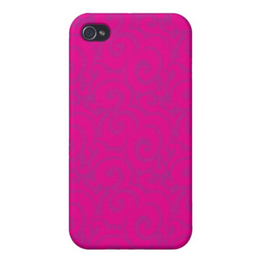 whimsical vibrant pattern iPhone 4 cases