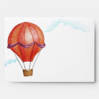 Whimsical Vintage Hot Air Balloon Envelope