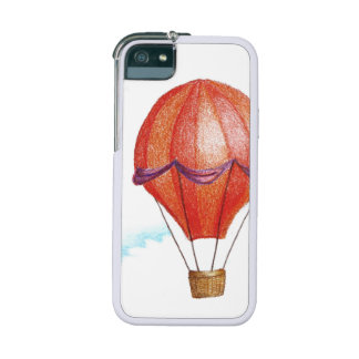 Whimsical Vintage Hot Air Balloon iPhone SE/5/5s Cover