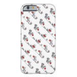 Whimsical Vintage Squirrels Reading Books Barely There iPhone 6 Case