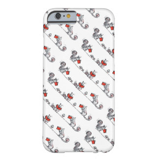 Whimsical Vintage Squirrels Reading Books iPhone 6 Case