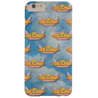 Whimsical Vintage Winged Pie in the Sky Barely There iPhone 6 Plus Case