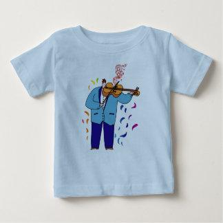 Whimsical Violin Baby T-shirt