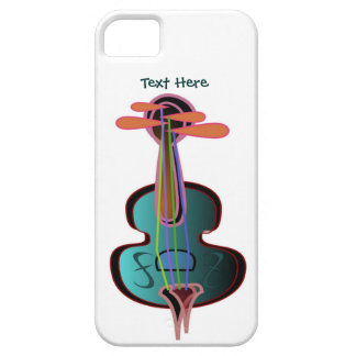 Whimsical Violin iPhone 5 Case