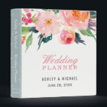 """Whimsical Watercolor Botanical Wedding Planner Binder<br><div class=""""desc"""">Customize this &quot;Whimsical Watercolor Botanical Wedding Planner Binder&quot; to add a special touch. It&#39;s easy to personalize to match your wedding colors, styles and theme. (1) For further customization, please click the &quot;customize further&quot; link and use our design tool to modify this template. (2) If you need help or matching...</div>"""
