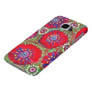 Whimsical Watermelon Pinwheel Samsung Galaxy S6 Case