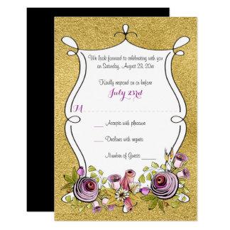 Cheap Wedding RSVP Cards Amp Templates