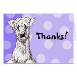 Whimsical Wheaten Thank You Cards