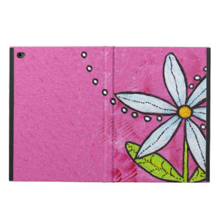 Whimsical White Daisy Flower Pink Powis iPad Air 2 Case