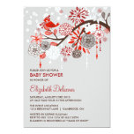 Whimsical Winter Snow Baby Shower Invitation