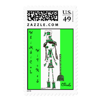 WhiMSiCaL WiTcHeS ChLoE Postage Stamp