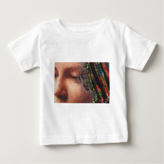 Whimsical Woman Art Collage Baby T-Shirt