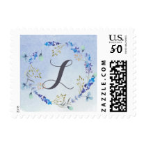 Whimsical Wonderland  Spring Floral Wedding Postage
