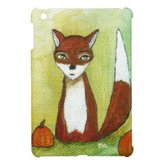 Whimsical Woodland Fox Folk Art Painting iPad Mini Cover