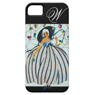 WHIMSICAL YOUNG GIRL MONOGRAM / Beauty Fashion iPhone 5 Covers