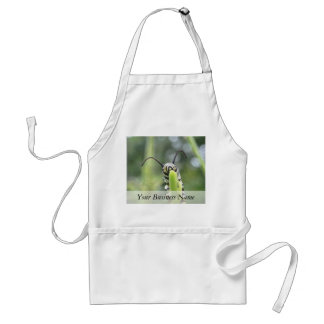 Whimsical Young Monarch Butterfly Caterpillar Adult Apron