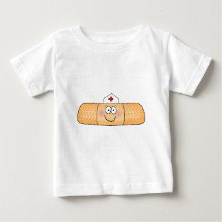Whimsicla Band Aid Bandage with Nurse Hat Cute Baby T-Shirt