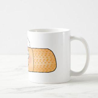 Whimsicla Band Aid Bandage with Nurse Hat Cute Coffee Mug
