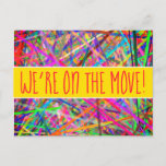 [ Thumbnail: Whimsy and Silly New-Home Postcard ]