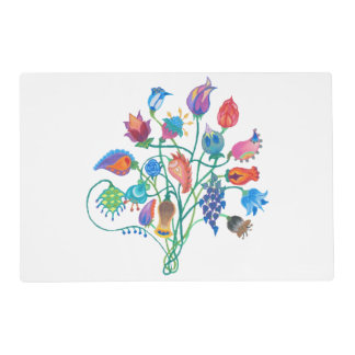 Whimsy Bouquet Reusable Placemats