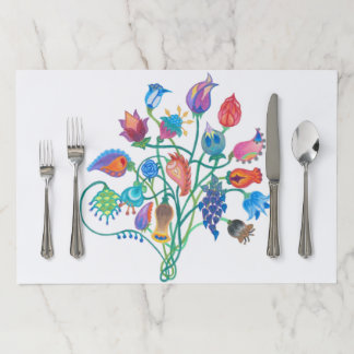Whimsy Bouquet Tearaway Placemat
