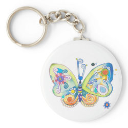 Whimsy Butterfly keychain