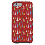 Whimsy Christmas Trees Tough iPhone 6 Case