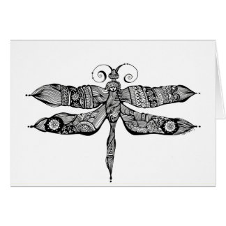 Whimsy Dragonfly Card