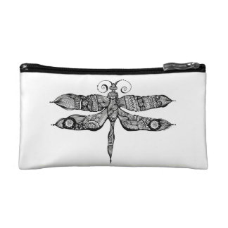 Whimsy Dragonfly Makeup Bag