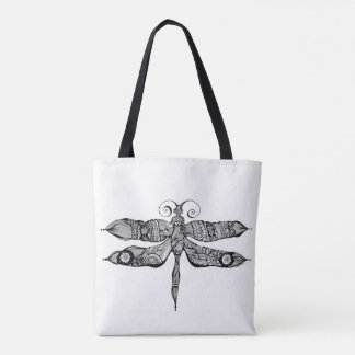 Whimsy Dragonfly Tote Bag