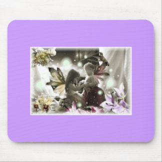 Whimsy Fairy Garden Mouse Pad