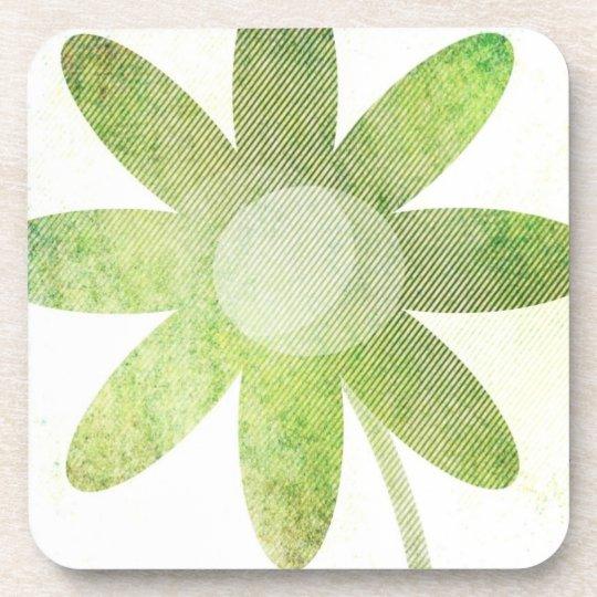 Whimsy Floral Art Beverage Coaster