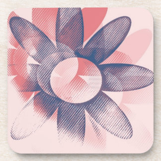 Whimsy Floral Art Beverage Coasters