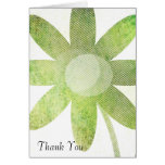 Whimsy Floral Art Thank You Greeting Cards