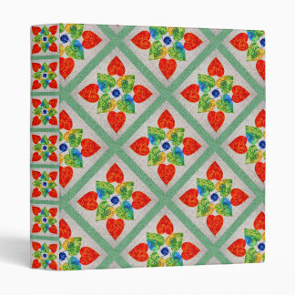 Whimsy Hearts Quilt Binder