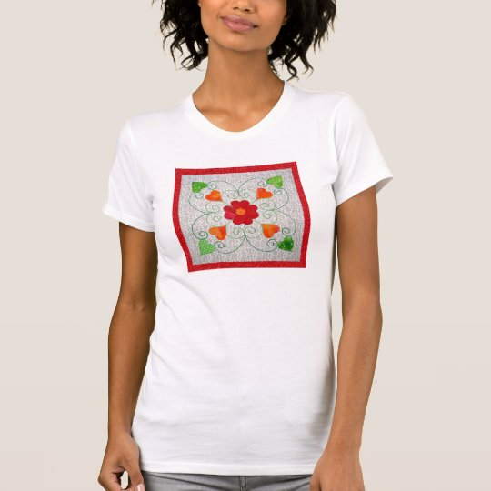 Whimsy Hearts Quilt - Block #2 T-Shirt