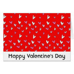 Whimsy Hearts Valentine's Day Greeting Card